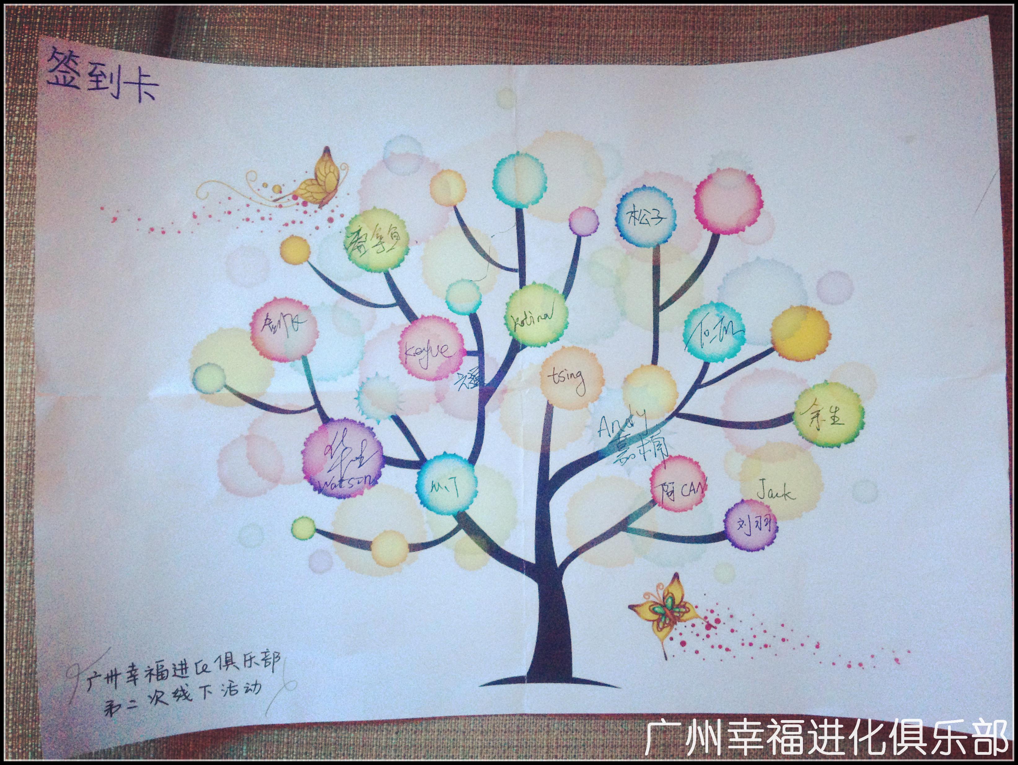 【广州幸福进化俱乐部】第二期线下活动